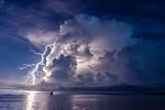 Lightning storm at Dedon Island