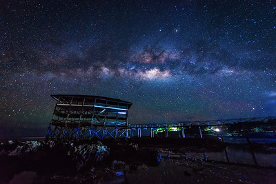 Milky Way at the Cloud 9 Boardwalk