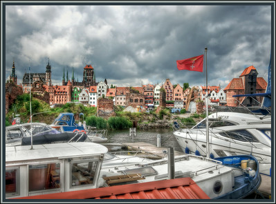 Harbor, Gdansk, Poland.