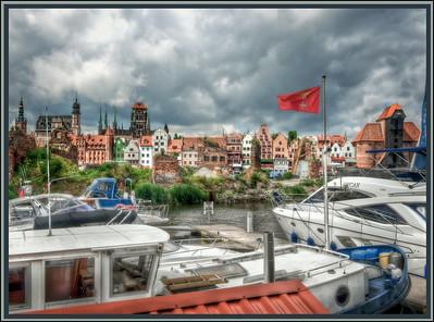 Harbor, Gdansk, Poland.