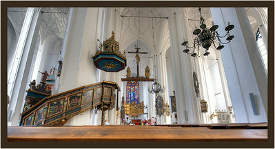 Saint Mary's Church, Gdansk, Poland.