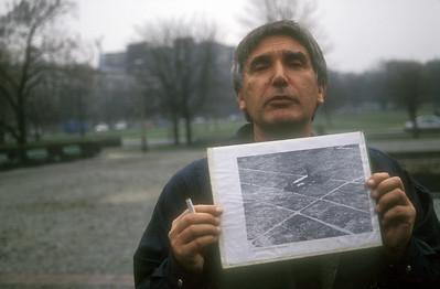 Photo of prior war damage, Warsaw, Poland.