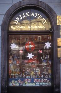 Delicatessen, Krakow, Poland.
