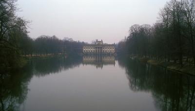 Palace outside Warsaw, Poland.