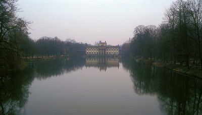 Palace outside Warsaw, Poland.