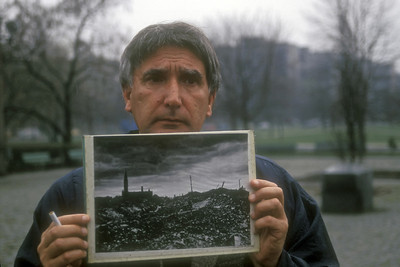 Photo of prior war damage, Warsaw, Poland.