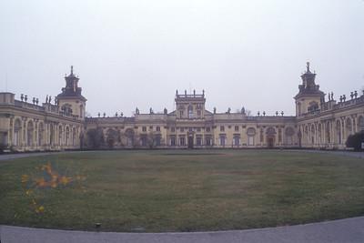 Palace, Warsaw, Poland.