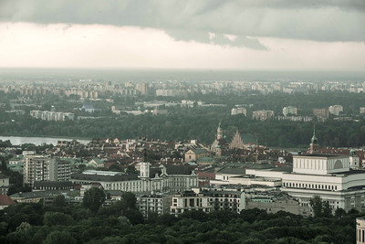 Old town, Warsaw, Poland.