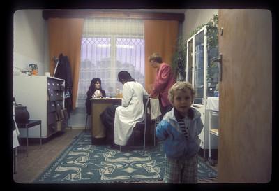 Roma clinic, Brasov, Transylvania, Romania.