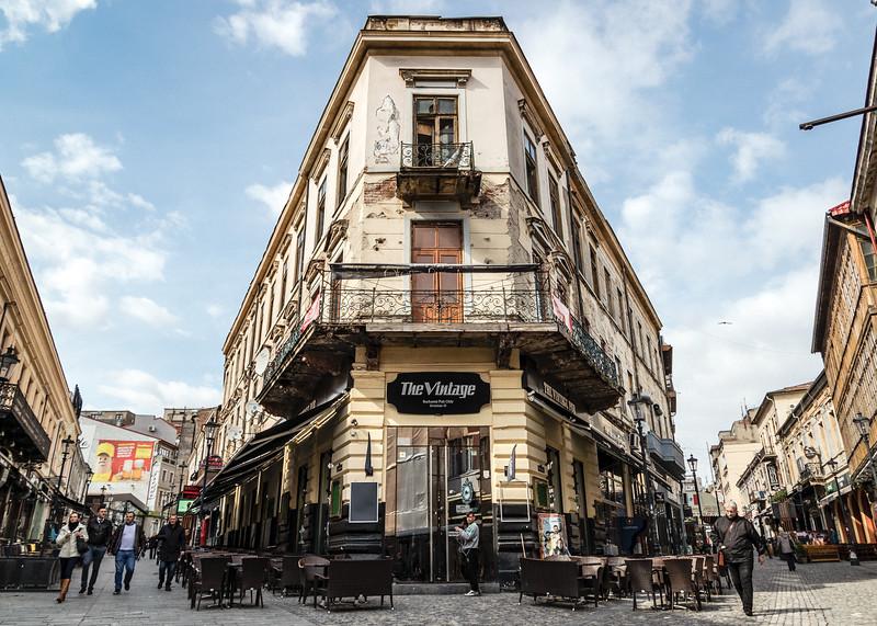 Downtown Bucharest