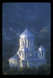 The Buna Vestire Orthodox Church, built 1934 - 1937, Brasov, Transylvania, Romania.