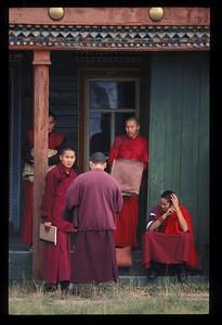 Buddhist monastery, or datsun, in Ivolginsk, Buryatian Autonomous Republic, Siberia, Russia.