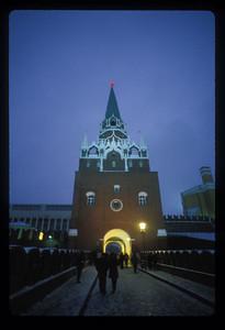 Kremlin gate, Moscow, Russia.