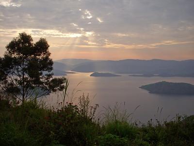 Rwanda, the Great Lakes region of Africa.