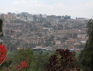 Kigali, Rwanda downtown skyline.