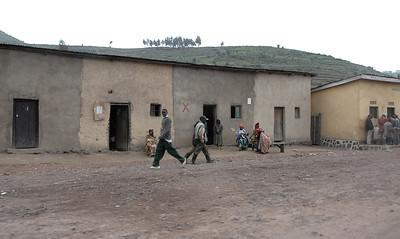Rural village outside Gisenyi, Rwanda.