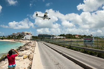 Princess Juliana International Airport, St. Martin.