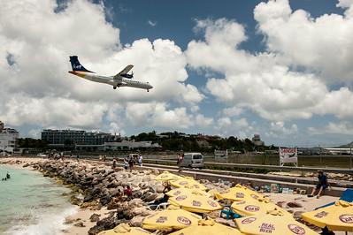 Princess Juliana International Airport, St. Martin.