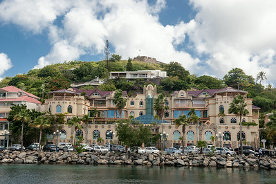 St. Martin waterfront.