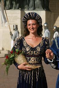 2005 medieval festival in San Marino