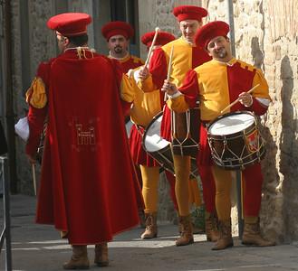 Medieval festival, San Marino
