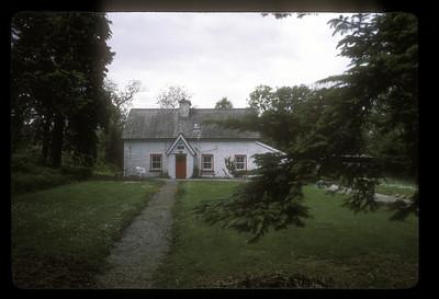 Cottage, rural Scotland.