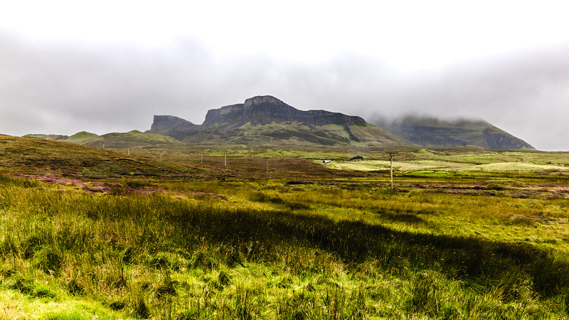 Fog Over the Quiraing