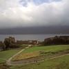 Castle at Loch Ness, Scotland.