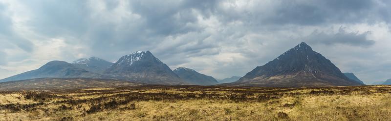 The mountains in Glencoe Scotland.