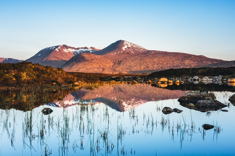 Glencoe Mountain Reflection