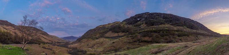 Valley near Glencoe Scotland.