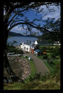 Shieldag on Loch Shieldag, northwest Scotland.