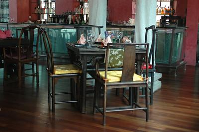 Restaurant interior, Singapore.