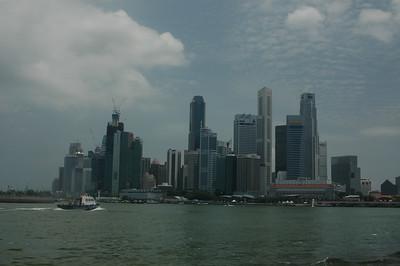 Harbor, downtown Singapore.