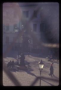 Square in old town, Bratislava, Slovakia.