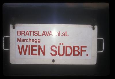 Train, Bratislava, Slovakia.