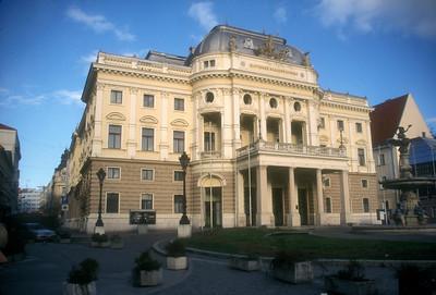 The National Slovak Theater, Bratislava, Slovakia.
