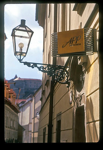 Street scene, old town, Bratislava, Slovakia.