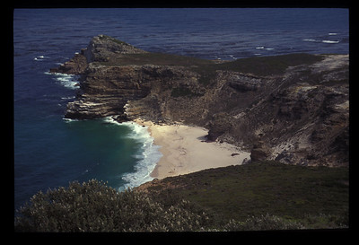 Beach in Cape Peninsula National Park, Cape of Good Hope, South Africa.