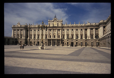 King's residence, Madrid, Spain.