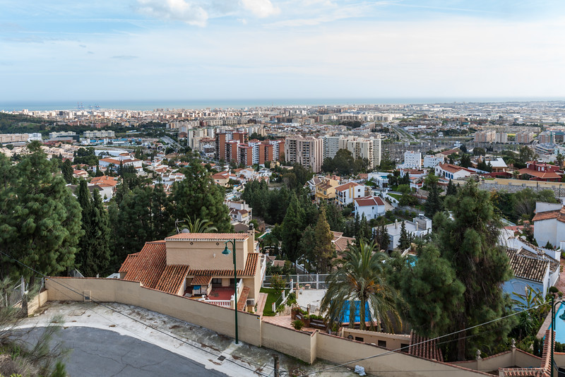 View of cityscape - Spain - Malaga