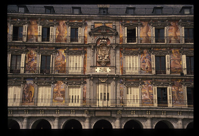 Plaza Mayor, Madrid, Spain.