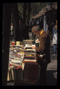 Book fair, Madrid, Spain.