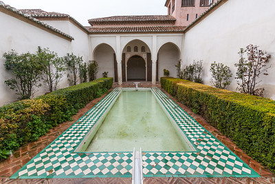 View of courtyard - Spain
