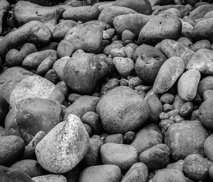 Rocks on the coast of Tenerife.
