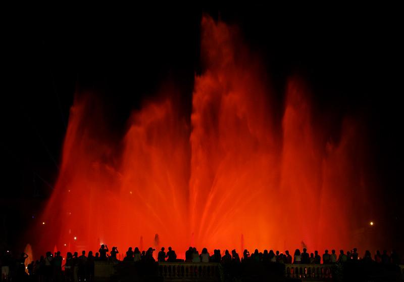 Font màgica de Montjuïc - Red