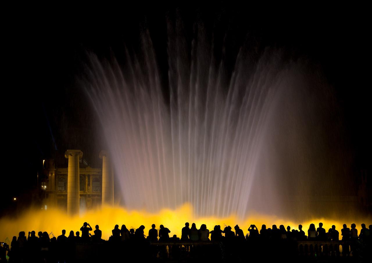 Font màgica de Montjuïc - Yellow
