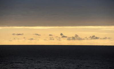 The South Atlantic Ocean.