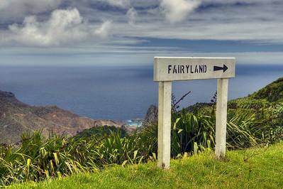 St. Helena island, South Atlantic Ocean.