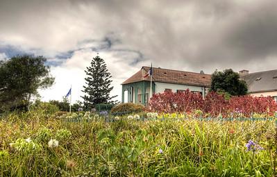 Longwood House, place of Napoleon's final exile, St. Helena island, South Atlantic Ocean.